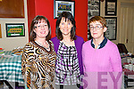Front of House Staff for the play 'Too Close to Home' by Jimmy Keary, which took place in the Rugby Club House, Abbeyfeale on Saturday night were L-R : Eileen Harnett, Carmel Curtin and Bridget Madigan.