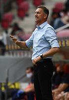 24th May 2020, Opel Arena, Mainz, Rhineland-Palatinate, Germany; Bundesliga football; Mainz 05 versus RB Leipzig; Trainer Achim Beierlorzer (FSV Mainz 05)