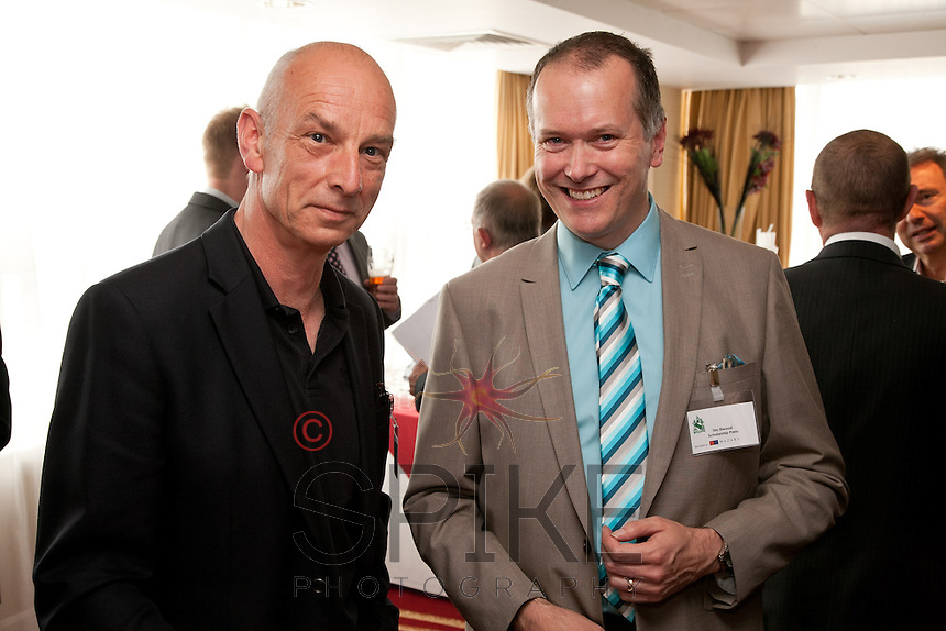 Ben Braber (left) of BBMC Goodward and Tim Elwood of Scholarship Press