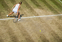 London, England, 7 th July, 2017, Tennis,  Wimbledon, Terrible state of court 18<br /> Photo: Henk Koster/tennisimages.com