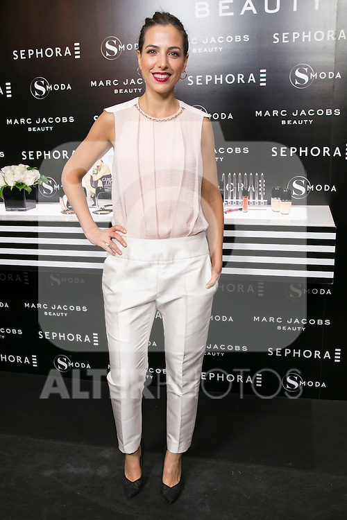 Alicia Rubio attends the SMODA Magazine and SEPHORA new Marc Jacobs Make up collection presentation at Sephora Shop in Madrid, Spain. October 6, 2014. (ALTERPHOTOS/Carlos Dafonte)