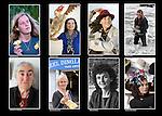 Dingle women,  Gabriella Athems, Sinead Carolan, Inni-K, Susan Callery, Frances U Chinneide, Maire De Barra, Kathleen McAulliffe.<br /> Picture: macmonagle archive<br /> e: info@macmonagle.com