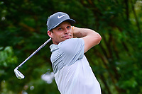 Nick Watney (USA) watches his tee shot on 7 during round 2 of the Dean &amp; Deluca Invitational, at The Colonial, Ft. Worth, Texas, USA. 5/26/2017.<br /> Picture: Golffile | Ken Murray<br /> <br /> <br /> All photo usage must carry mandatory copyright credit (&copy; Golffile | Ken Murray)