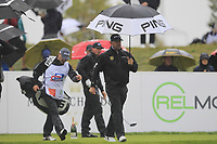 Lee Westwood (ENG) on the 2nd tee during Round 2 of the D+D Real Czech Masters at the Albatross Golf Resort, Prague, Czech Rep. 01/09/2017<br /> Picture: Golffile | Thos Caffrey<br /> <br /> <br /> All photo usage must carry mandatory copyright credit     (&copy; Golffile | Thos Caffrey)