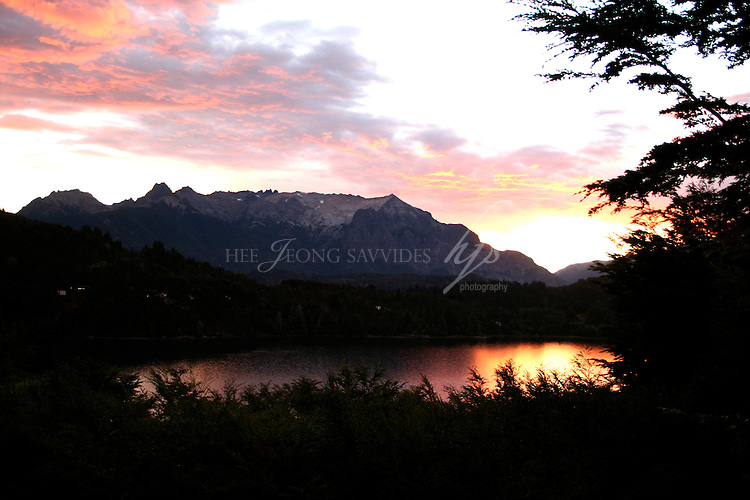 Sunset, Bariloche, Argentina | Feb 08