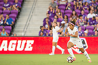 Orlando, FL - Saturday July 15, 2017: Desiree Scott during a regular season National Women's Soccer League (NWSL) match between the Orlando Pride and FC Kansas City at Orlando City Stadium.