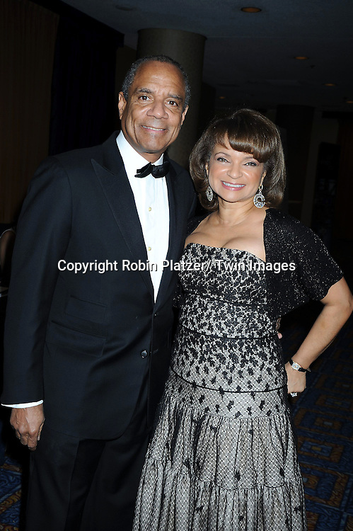 "Kenneth Chenault and wife Kathy Chenault attending The UNCF Gala celebrating The 40th Anniversary of  "" A Mind is a Terrible Thing to Waste"" ad campaign on March 3, 2011 at The Marriott Marquis Hotel in New York City. Vernon Jordan, Young & Rubicam and The Ad Council were honored."