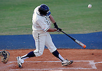 Florida International University infielder/outfielder Tyler James Shantz (5) plays against the University of North Florida. FIU won the game 6-4 on March 13, 2012 at Miami, Florida.