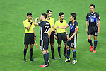 (L to R) <br /> Maya Yoshida, <br /> Makoto Hasebe, <br /> Shinji Kagawa (JPN), <br /> SEPTEMBER 1, 2016 - Football / Soccer : <br /> FIFA World Cup Russia 2018 Asian Qualifier <br /> Final Round Group B <br /> between Japan 1-2 United Arab Emirates <br /> at Saitama Stadium 2002, Saitama, Japan. <br /> (Photo by YUTAKA/AFLO SPORT)