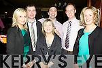 Enjoying themselves for Knocknagashel's Annual Social last Saturday night in The Devonn Inn, Templeglantine was Brenda Leahy, Niall Walsh, Mary Walsh, Aidain Walsh, Mike Grady and Deirdre Murphy.