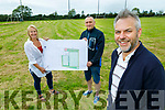 Members of the Ardfert Community Council on Thursday, unveil Phase 1 of the new sports centre, playing fields and astro turf field which has gone out to tender stage.  <br /> Front right: Sean Ryan. Back l to r: Barbara O'Grady and Declan Raggat