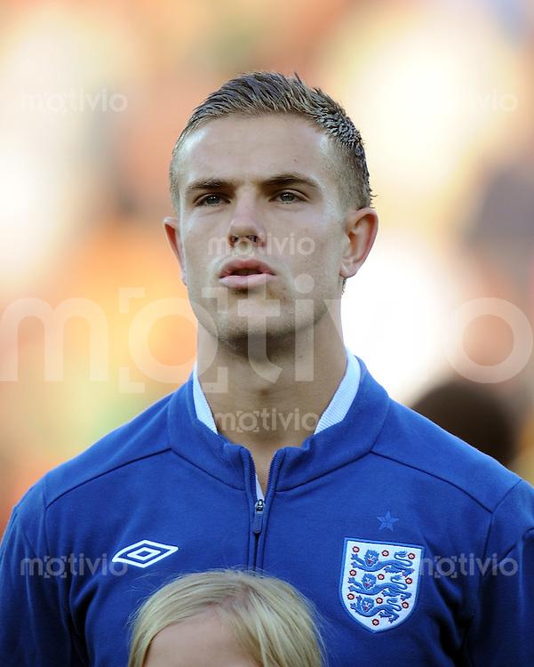 FUSSBALL   UEFA U21-EUROPAMEISTERSCHAFT 2011   GRUPPE B Spanien - England        12.06.2011 Jordan Henderson (England)