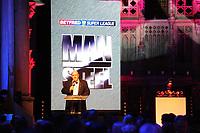 Picture by Simon Wilkinson/SWpix.com - 03/10/2017 - Rugby League BETFRED Super League Man of Steel Awards Dinner 2017 - The Steve Prescott MBE Man of Steel - Brian Barwick