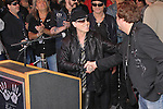 KLAUS MEINE, DAVE WEIDEMAN. The Scorpions are inducted into Hollywood's RockWalk, dedicated to honoring artists who have made a significant impact on Rock 'n' Roll, Blues and R&B. Hollywood, CA, USA. April 6, 2010. .