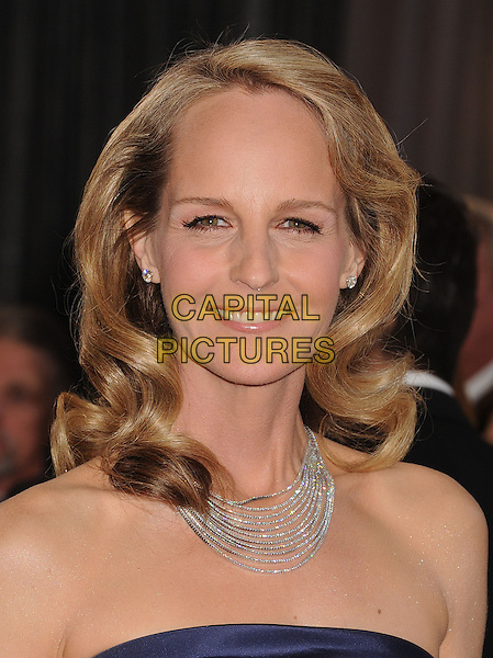 Helen Hunt .85th Annual Academy Awards held at the Dolby Theatre at Hollywood & Highland Center, Hollywood, California, USA..February 24th, 2013.oscars headshot portrait necklace silver strapless navy blue  .CAP/ROT/TM.©Tony Michaels/Roth Stock/Capital Pictures