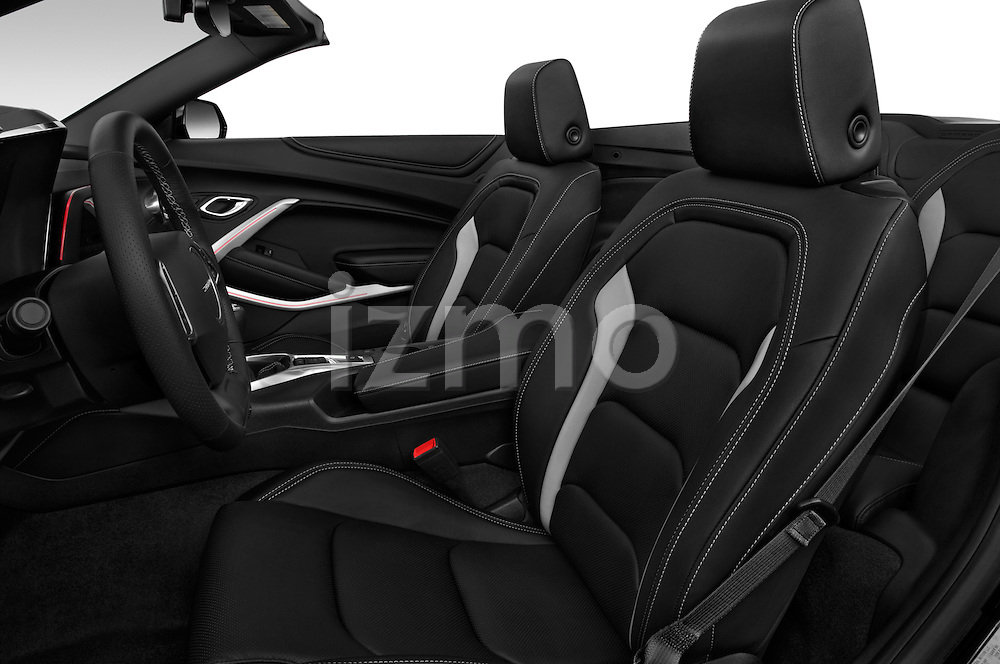 Front seat view of 2017 Chevrolet Camaro 2LT 2 Door Convertible Front Seat  car photos