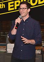 "STUDIO CITY - OCTOBER 4:  Andy Samberg at Fox's ""Brooklyn Nine-Nine"" 99th Episode Celebration at CBS Radford Studio  on October 4, 2017 in Studio City, California. (Photo by Scott Kirkland/Fox//PictureGroup)"