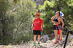 Fans wait for the race to arrive near the finish of Stage 4 of the La Vuelta 2018, running 162km from Velez-Malaga to Alfacar, Sierra de la Alfaguara, Andalucia, Spain. 28th August 2018.<br /> Picture: Eoin Clarke   Cyclefile<br /> <br /> <br /> All photos usage must carry mandatory copyright credit (&copy; Cyclefile   Eoin Clarke)