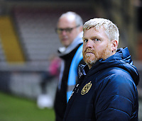 South Shield's joint manager Graham Fenton<br /> <br /> Photographer Andrew Vaughan/CameraSport<br /> <br /> The FA Youth Cup Second Round - Lincoln City U18 v South Shields U18 - Tuesday 13th November 2018 - Sincil Bank - Lincoln<br />  <br /> World Copyright © 2018 CameraSport. All rights reserved. 43 Linden Ave. Countesthorpe. Leicester. England. LE8 5PG - Tel: +44 (0) 116 277 4147 - admin@camerasport.com - www.camerasport.com