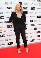 Michelle Collins at the British LGBT Awards at the London Marriott Hotel Grosvenor Square, Grosvenor Square, London on Friday 11 May 2018<br /> CAP/ROS<br /> &copy;ROS/Capital Pictures