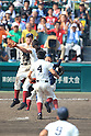 Osaka Toin team group,<br /> AUGUST 25, 2014 - Baseball :<br /> Osaka Toin players celebrate their victory at the end of the 96th National High School Baseball Championship Tournament final game between Mie 3-4 Osaka Toin at Koshien Stadium in Hyogo, Japan. (Photo by Katsuro Okazawa/AFLO)2