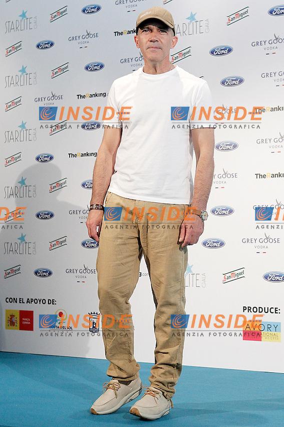 Spanish actor Antonio Banderas presents the fourth edition of Starlite Gala.June 25,2013.(ALTERPHOTOS/Acero) <br /> Madrid 25/6/2013 <br /> Foto Alterphotos/Insidefoto