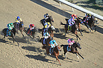 November 3, 2018: The field heads to the first turn in the Longines Breeders' Cup Distaff on Breeders' Cup World Championship Saturday at Churchill Downs on November 3, 2018 in Louisville, Kentucky. John Voorhees/Eclipse Sportswire/CSM