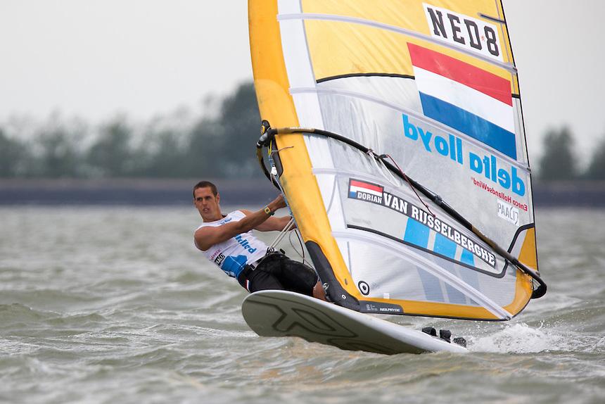 RSX Men Medal Race, may 24th, Delta Lloyd Regatta  2014 (20/24 May 2014). Medemblik - the Netherlands.