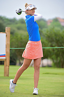 Nelly Korda (USA) watches her tee shot on 9 during round 2 of  the Volunteers of America Texas Shootout Presented by JTBC, at the Las Colinas Country Club in Irving, Texas, USA. 4/28/2017.<br /> Picture: Golffile | Ken Murray<br /> <br /> <br /> All photo usage must carry mandatory copyright credit (&copy; Golffile | Ken Murray)