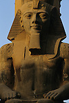 Colossal statue of Ramses II, Great Temple of Amun, Luxor, Pharaohs of the Sun, New Kingdom, Egypt