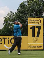 Kiradech Aphribarnet (THA) during the Pro-Am ahead of the 2014 Maybank Malaysian Open at the Kuala Lumpur Golf & Country Club, Kuala Lumpur, Malaysia. Picture:  David Lloyd / www.golffile.ie
