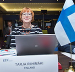 BRUSSELS - BELGIUM - 25 November 2016 -- European Training Foundation (ETF) Governing Board meeting. -- Tarja Riihimäki, Counsellor of Education Department of Vocational Education Vocational Education Division - Ministry of Education and Culture. -- PHOTO: Juha ROININEN / EUP-IMAGES