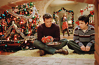 Surviving Christmas (2004)<br /> Ben Affleck &amp; Josh Zuckerman<br /> *Filmstill - Editorial Use Only*<br /> CAP/KFS<br /> Image supplied by Capital Pictures