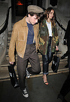 Brooklyn Beckham and Hana Cross at the GQ Car Awards 2019, Corinthia Hotel, Whitehall Place, London, England, UK, on Monday 04th February 2019.<br /> CAP/CAN<br /> ©CAN/Capital Pictures