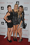 "WEST HOLLYWOOD, CA. - November 11: Lauren ""Lo"" Bosworth, Stephanie Pratt and Lauren Conrad  arrive at the Maxim And Ubisoft Celebrate The Launch Of 'Assassin's Creed II' at Voyeur on November 11, 2009 in West Hollywood, California."