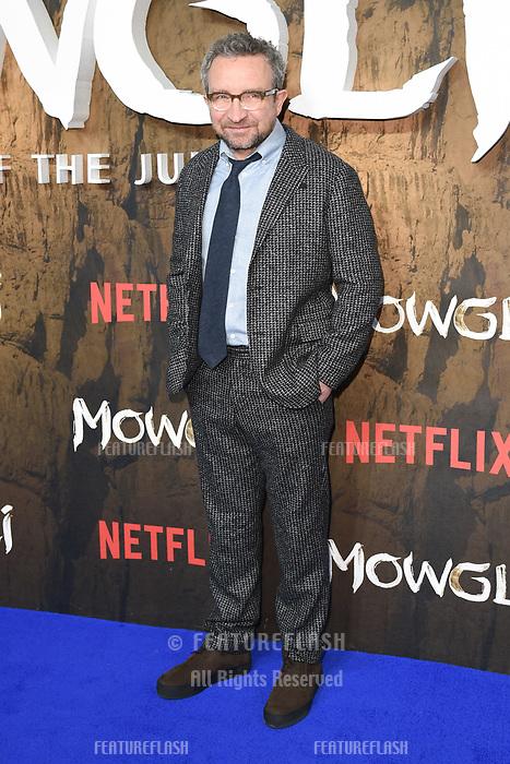 LONDON, UK. December 04, 2018: Eddie Marsan at the&quot;Mowgli: Legend of the Jungle&quot; premiere at the Curzon Mayfair, London.<br /> Picture: Steve Vas/Featureflash