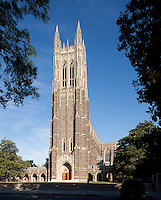 chapel, Duke University, Durham, NC