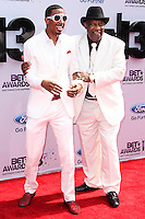 LOS ANGELES, CA - JUNE 30: Nick Cannon and James Cannon attend the 2013 BET Awards at Nokia Theatre L.A. Live on June 30, 2013 in Los Angeles, California. (Photo by Celebrity Monitor)
