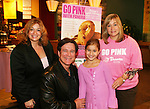 "Guiding Light's Frank Dicopoulos ""Frank Cooper"" poses with LIsa Edmonds (of the foundation) with her daughter and granddaughter as he  donated his time for Young Women's Breast Cancer Awareness Foundation by going to Pittsburgh, PA on October 7, 2008 and went Pink with Panera. They visited three of 27 Panera Bread locations during the day where 100% of sales from their Pink Ribbon bagels went to the foundation and a portion of those sales all during the month of October. For more information go to www.breastcancerbenefit.org. The day started out with Star 100.7 and the hosts Kate and JR interviewed Frank Dicopoulos. The two actors then went to the CBS studio in Pittsburgh in the morning. The day was a great hit. (Photo by Sue Coflin/Max Photos)"