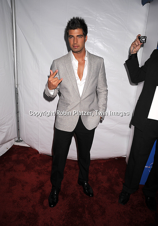 Jencarlos Canela..posing for photographers at The NBC Universal Experience of their Fall 2008-2009 schedule on May 12, 2008 at Rockefeller Center. Stars from NBC, USA, Bravo, Scifi, Oxygen, Telemundo and mun2 were there. ....Robin Platzer, Twin Images