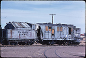 Derelict D&amp;RGW rotary #OY.<br /> D&amp;RGW  Antonito, CO