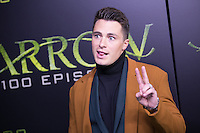 VANCOUVER, BC - OCTOBER 22: Colton Haynes at the 100th episode celebration for tv's Arrow at the Fairmont Pacific Rim Hotel in Vancouver, British Columbia on October 22, 2016. Credit: Michael Sean Lee/MediaPunch