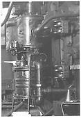 K-28 #478 air pump and piping.<br /> D&amp;RGW  Durango, CO  6/1972