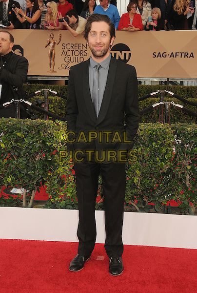 30 January 2016 - Los Angeles, California - Simon Helberg. 22nd Annual Screen Actors Guild Awards held at The Shrine Auditorium.      <br /> CAP/ADM/BP<br /> &copy;BP/ADM/Capital Pictures
