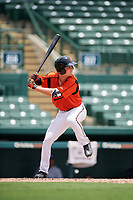GCL Orioles right fielder Will Robertson (11) at bat during a game against the GCL Rays on July 21, 2017 at Ed Smith Stadium in Sarasota, Florida.  GCL Orioles defeated the GCL Rays 9-0.  (Mike Janes/Four Seam Images)