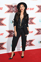 Nicole Scherzinger<br /> arrives for the &quot;X Factor&quot; 2017 series launch at the Picturehouse Central, London. <br /> <br /> <br /> &copy;Ash Knotek  D3301  30/08/2017