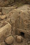 Israel, Shephelah, Burial cave at Emmaus-Nicopolis