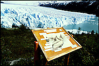 The galcier Petito Moreno in Patagonia. The glacier ist at the UNESCO-List of nature monuments.<br /> 25.10.2000, Patagonien<br /> Copyright: Christian-Ditsch.de<br /> [Inhaltsveraendernde Manipulation des Fotos nur nach ausdruecklicher Genehmigung des Fotografen. Vereinbarungen ueber Abtretung von Persoenlichkeitsrechten/Model Release der abgebildeten Person/Personen liegen nicht vor. NO MODEL RELEASE! Nur fuer Redaktionelle Zwecke. Don't publish without copyright Christian-Ditsch.de, Veroeffentlichung nur mit Fotografennennung, sowie gegen Honorar, MwSt. und Beleg. Konto: I N G - D i B a, IBAN DE58500105175400192269, BIC INGDDEFFXXX, Kontakt: post@christian-ditsch.de<br /> Urhebervermerk wird gemaess Paragraph 13 UHG verlangt.]