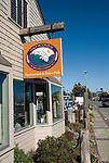 Restaurant Half Moon Bay Brewing in Princeton,.San Mateo Coast of California, south of San Francisco.  Photo copyright Lee Foster, 510-549-2202, lee@fostertravel.com, www.fostertravel.com.  Photo 432-31200