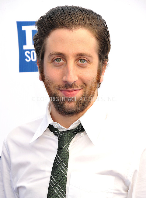 WWW.ACEPIXS.COM....August 19,2012, Santa Monica, CA.....Simon Helberg arriving at the 2012 Do Something Awards at Barker Hangar on August 19, 2012 in Santa Monica, California.........By Line: Peter West/ACE Pictures....ACE Pictures, Inc..Tel: 646 769 0430..Email: info@acepixs.com